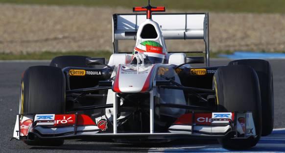 Barcelona testleri 3. gün - Sauber zirvede