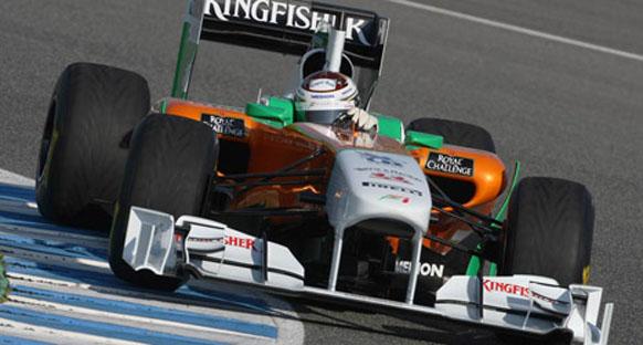 Force India, testlerde KERS ve ayarlanabilir kanat kullanmadı