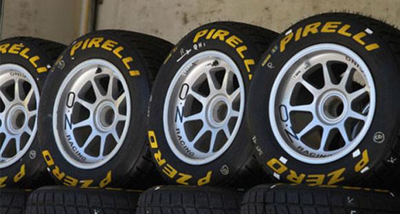 Pirelli ıslak lastik testlerini tamamladı