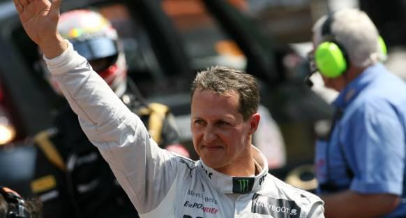 Schumacher'e Berlin'de 'Yılın Adamı' ödülü