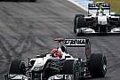 Schumacher - Rosberg analizi
