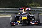 Vettel aracını övdü