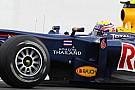 Webber yarışı bitirebildiğine seviniyor