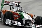 Almanya Grand Prix Cuma 1. antrenmanları - Sutil 1.1 saniye fark attı