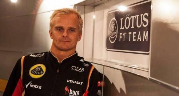 McLaren'a dokunduran Kovalainen Lotus'ta çok rahat