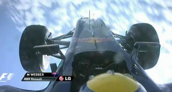 Webber: 'En büyük korkuyu havadayken yaşadım'