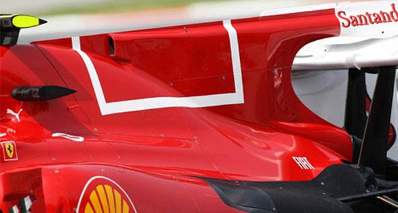 Ferrari Valencia'da yeni egzost tasarımıyla yarışacak