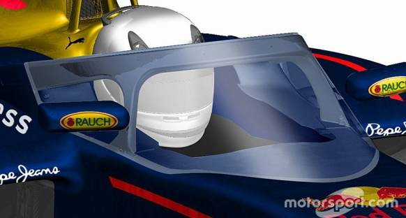 Red Bull'un yeni pilot koruma tasarımı ortaya çıktı