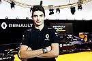 Cuma günü Renault direksiyonuna Esteban Ocon geçecek