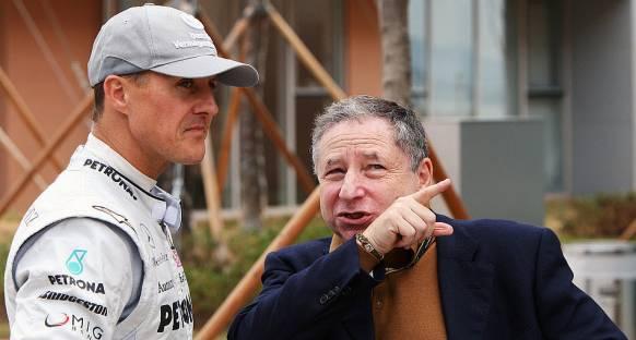 Todt: 'Schumacher'i bu durumda görmek acı verici'