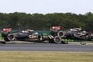 Lotus, pilotlarının ilk turda daha dikkatli olmasını istiyor
