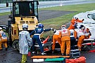 Bianchi'nin çarpışmasında etki 254G gücündeydi
