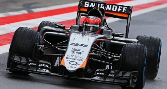 Yenilenmiş Force India çok hızlı