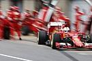 Sorunlara rağmen Vettel Avusturya'da günü lider tamamladı