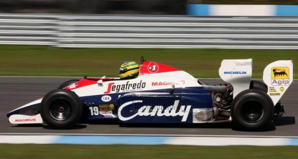 Senna'nın Toleman'ı satılık