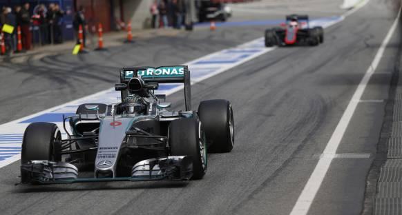 Son antrenmanların en hızlısı Rosberg