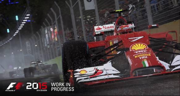 Codemasters F1 2015'i Haziran'da çıkartıyor