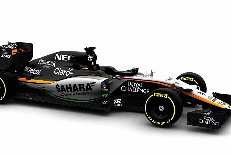 Force India показала VJM08