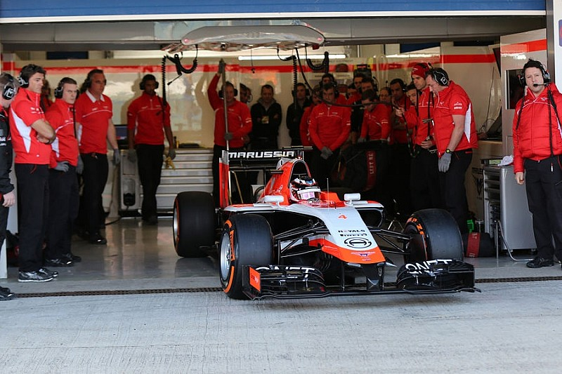 Презентация Marussia MR03