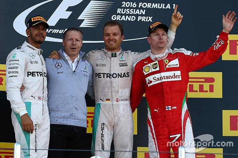 Rosberg boekt dominante zege in Rusland, Verstappen valt uit