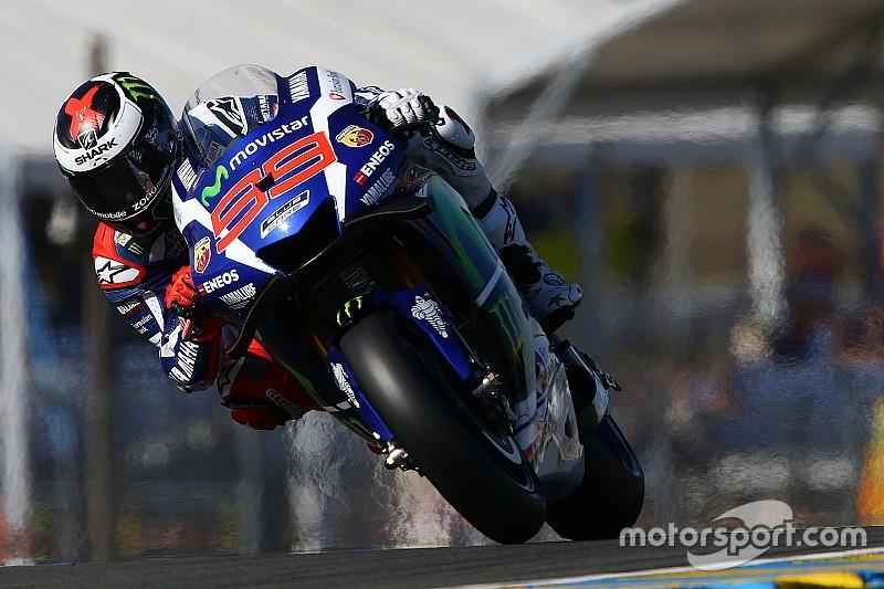 Soberano, Lorenzo domina primeiro dia de treinos em Le Mans