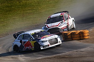 Rallycross-WM Rennbericht Rallycross-WM: Hockenheim-Triumph für Mattias Ekström