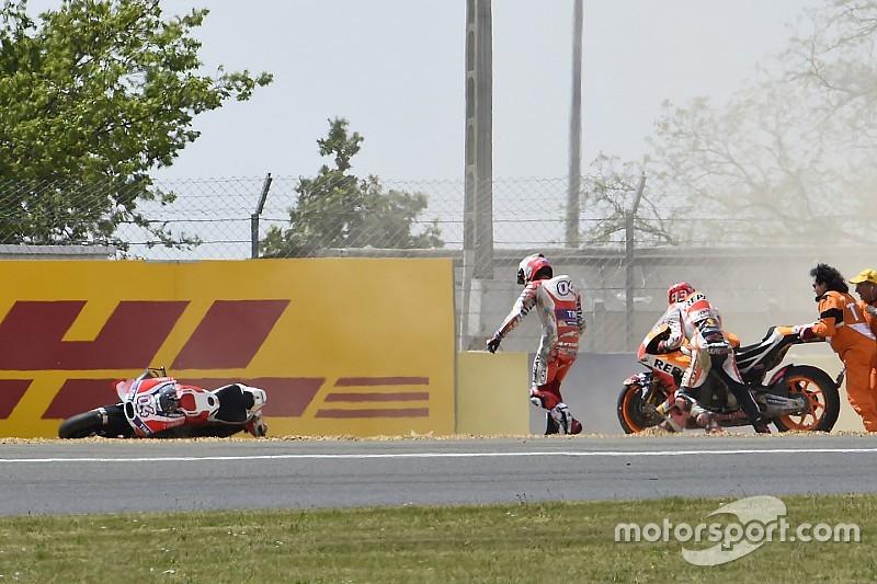 Ook Franse Grand Prix eindigt in tranen voor Ducati