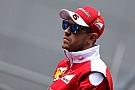 Vettel considera que Barcelona mostrará el nivel de Ferrari