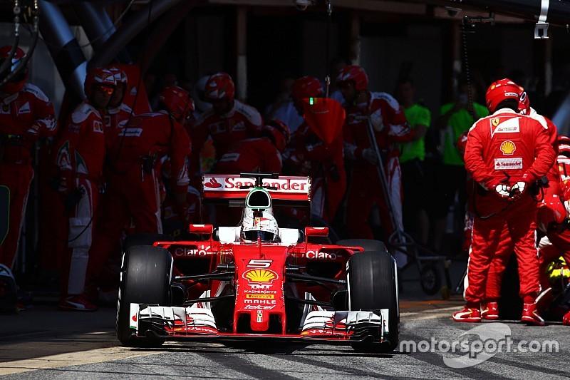 """Vettel: """"Hacer tres paradas fue un error"""""""