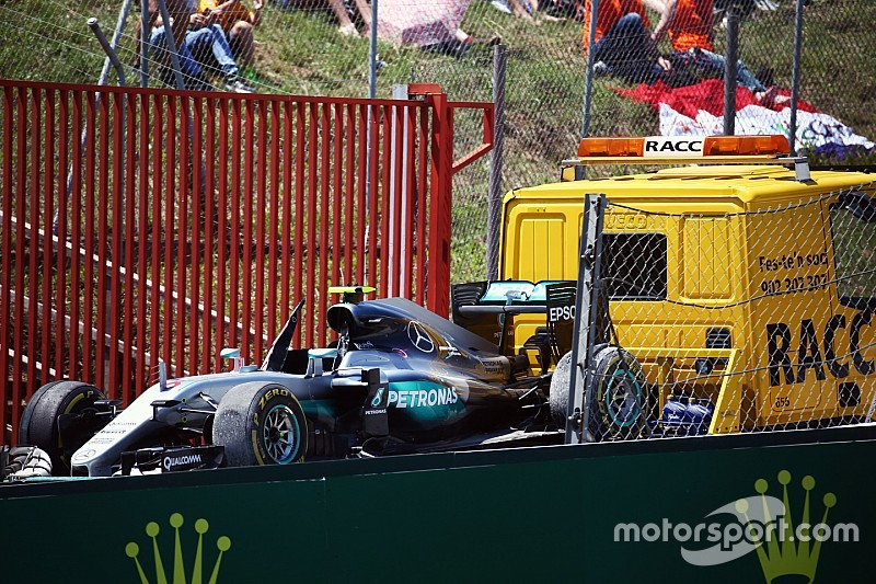 "Rosberg: ""Ik ben extreem ontgoocheld"""