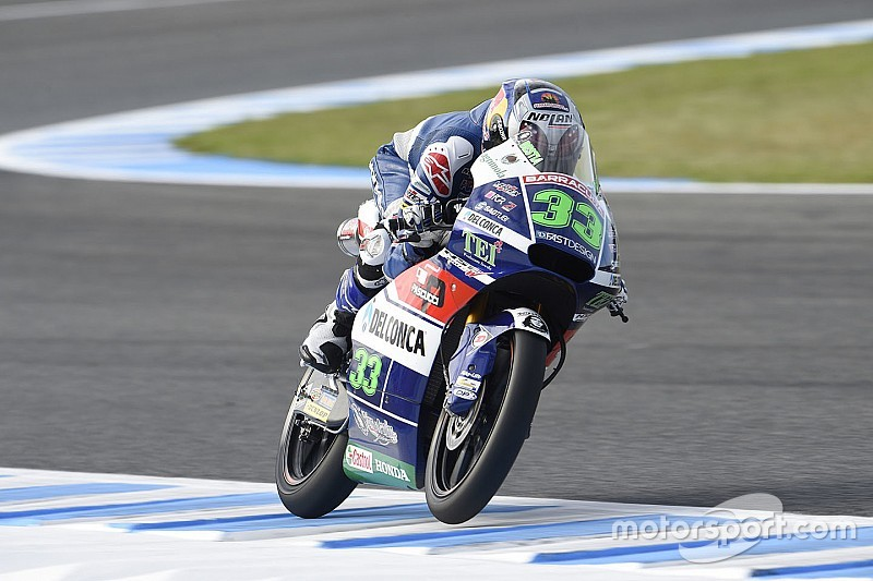 Bastianini è tornato in sella alla sua Honda in un test a Misano