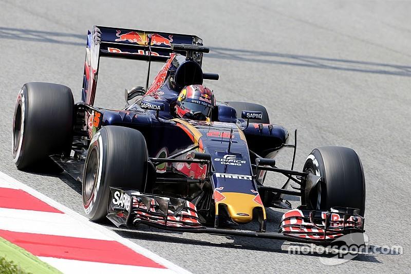 Квят радіє продуктивним тестам Toro Rosso