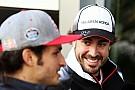 Alonso y Sainz entrenan juntos