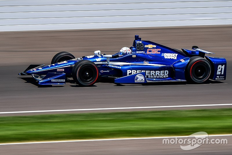 Indy 500: Josef Newgarden mit Trainingsbestzeit im großen Pulk
