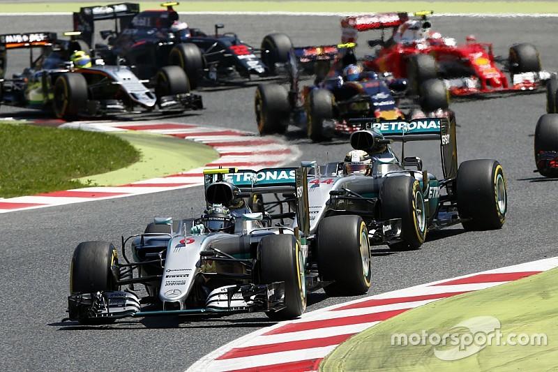 Rosberg geeft fout tijdens startprocedure GP Spanje toe