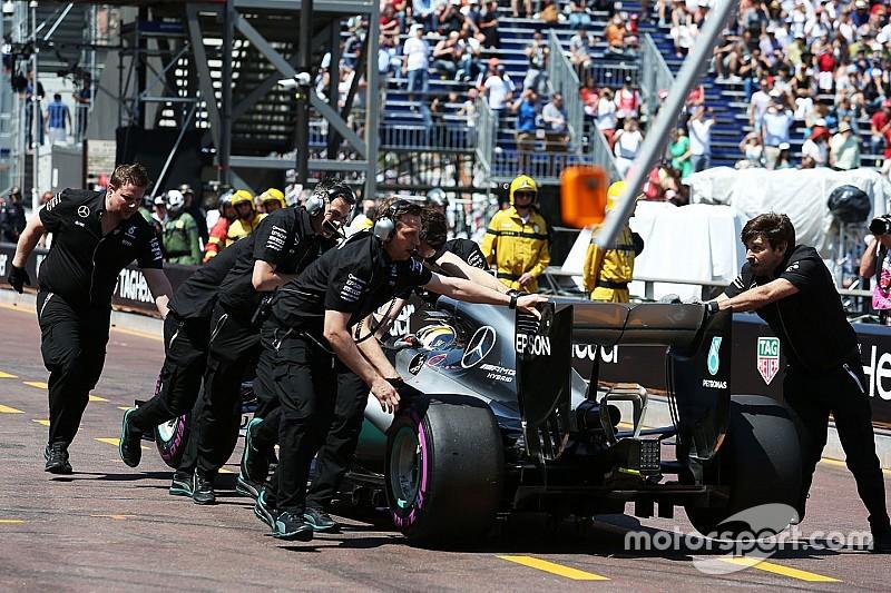 Las altas temperaturas causaron el fallo de presión en Mercedes