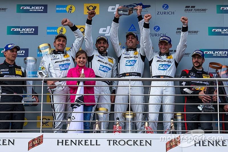 24h Nürburgring: Mercedes feiert Vierfacherfolg auf der Nordschleife