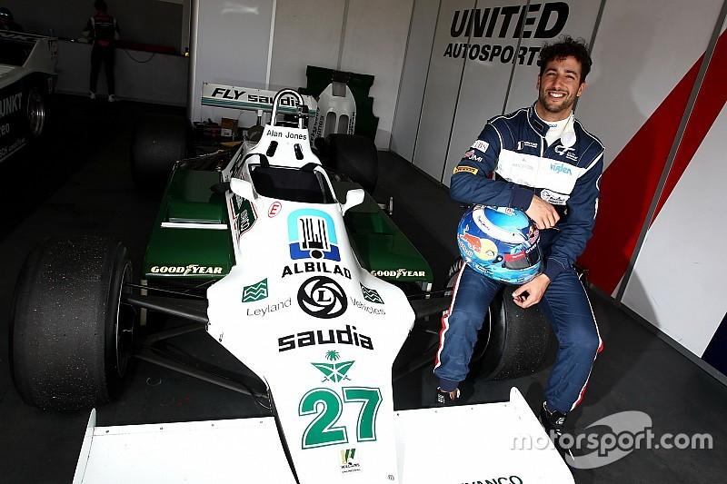 Посмішка повернулась до Ріккардо після тестів боліду Williams