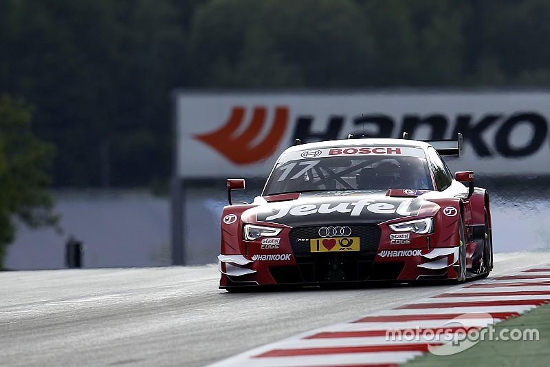 DTM Lausitzring: Doppelspitze für Audi im 1. Qualifying