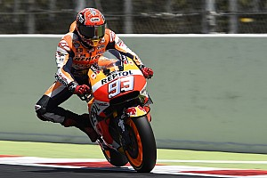 MotoGP Qualifyingbericht MotoGP: Barcelona-Pole für Marc Marquez auf neuer Streckenführung