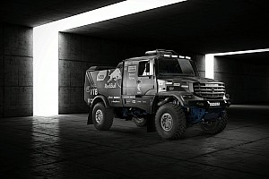 Dakar Galería Galería: el Kamaz truck para el Dakar 2017