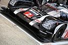 Porsche lidera la mañana del test en Le Mans