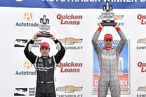 IndyCar Résumé de course Une bataille cruciale et propre entre Power et Pagenaud