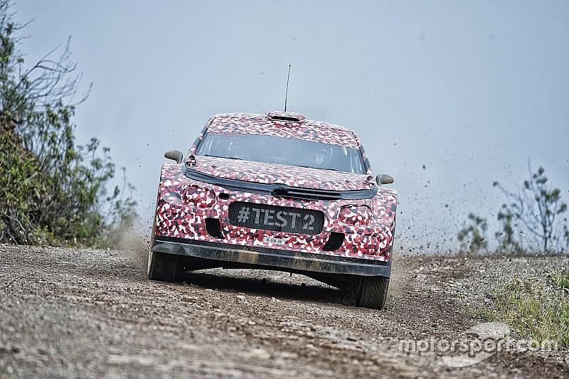 Citroën hace una nueva prueba de su WRC 2017