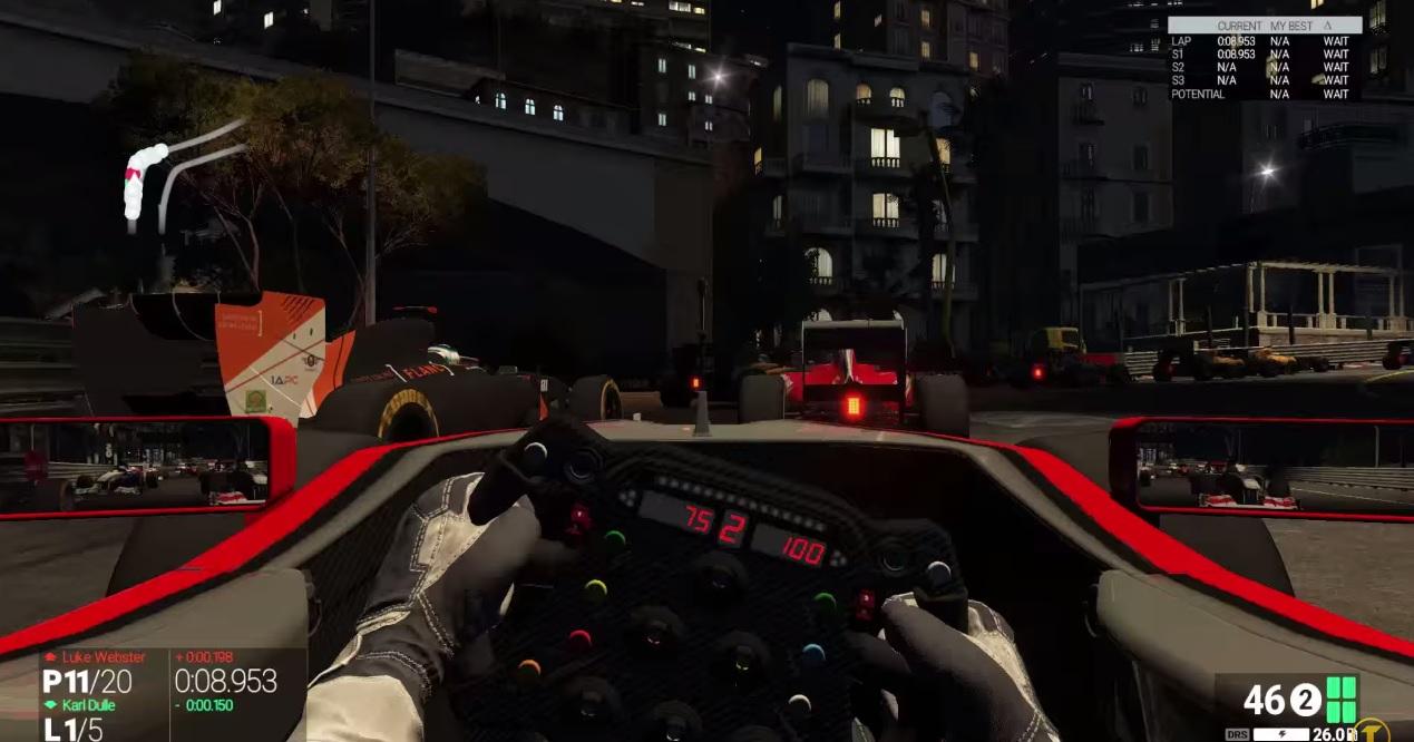Project CARS: Ilyen lenne, ha a Forma-1 mezőnye éjszaka versenyezne Monacóban