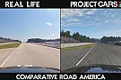 Project CARS a valóság ellen: Road America