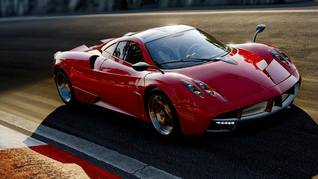 Project CARS Vs. Shift 2: Pagani Huayra Brands Hatch-ben