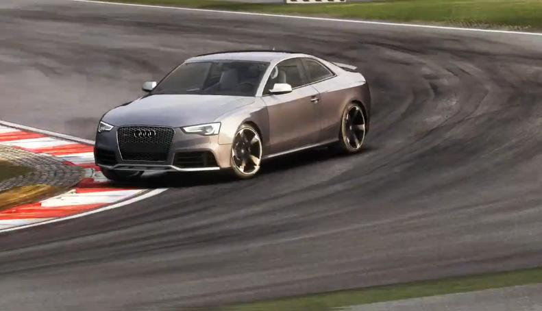 GRID Autosport: Audi RS5 a Red Bull Ringen