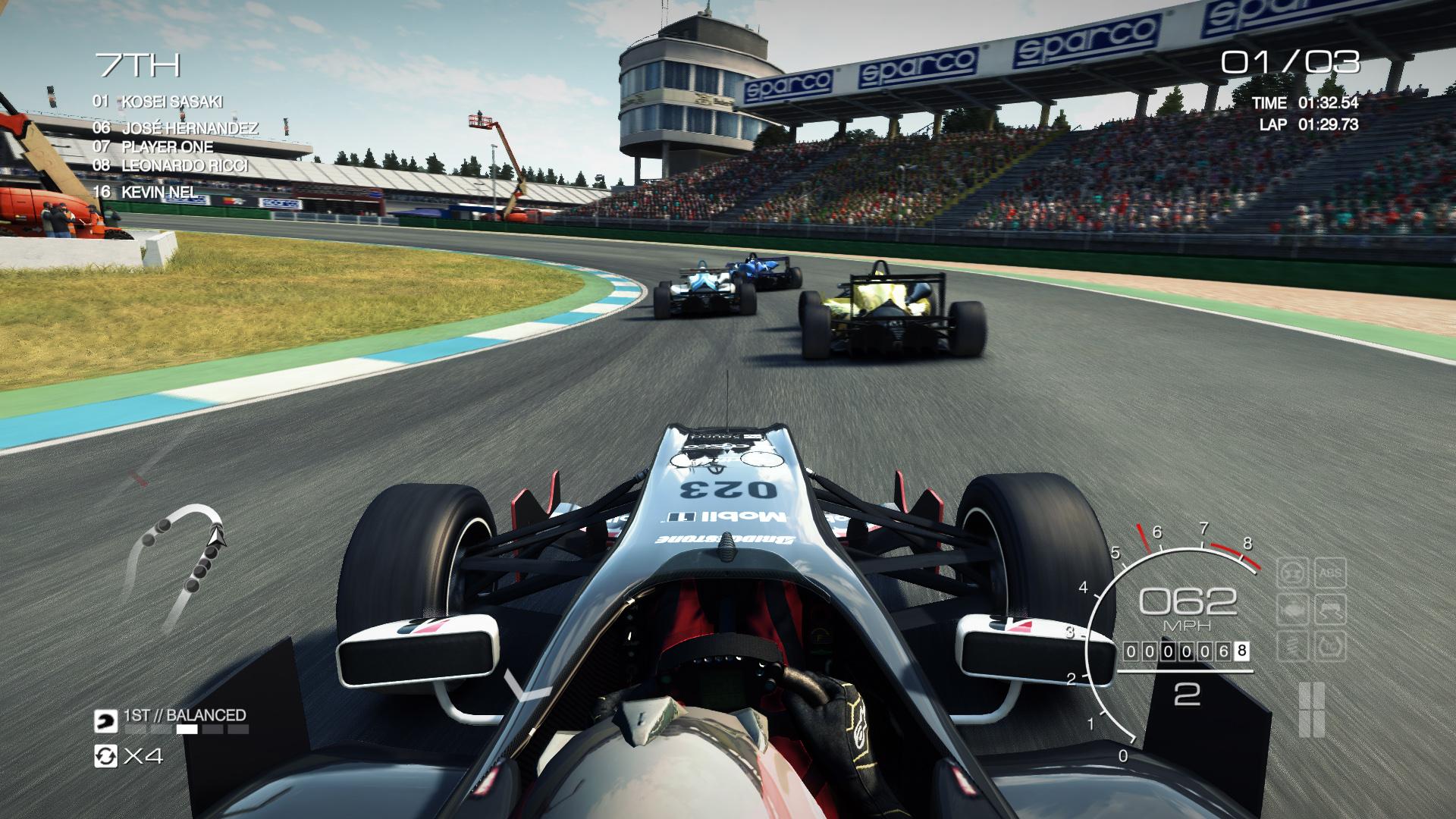 GRID Autosport: Ilyen, amikor a formula kategóriában versenyzel