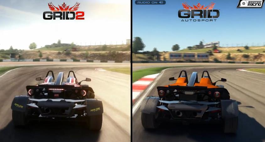 GRID Autosport Vs. GRID 2: Grafikai és hangi összehasonlítás